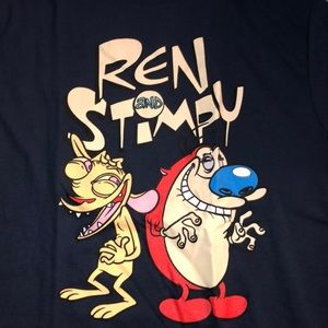 NWOT - Rare Ren and Stimpy Tee